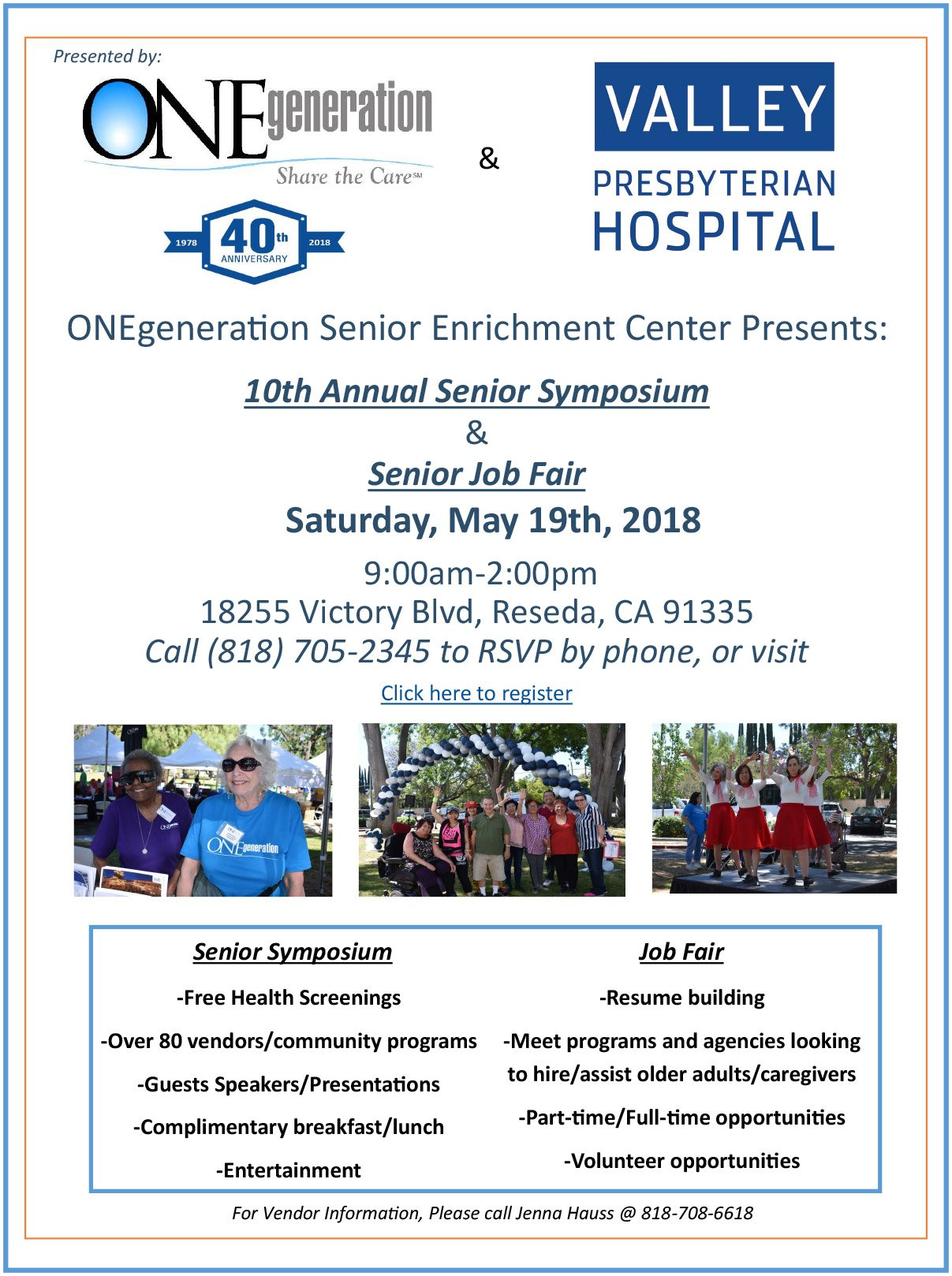 ONEgeneration Senior Symposium