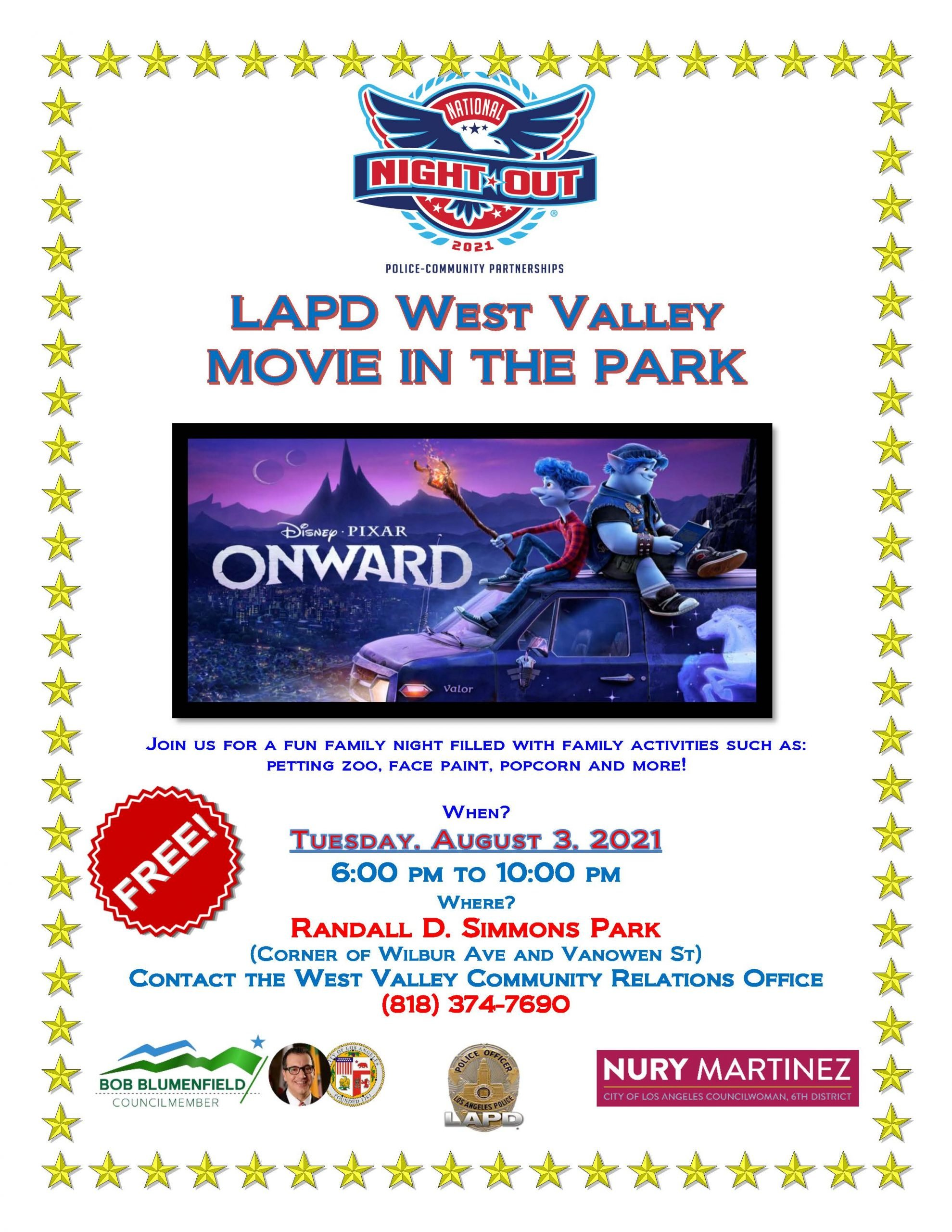 2021 National Night Out Flyer